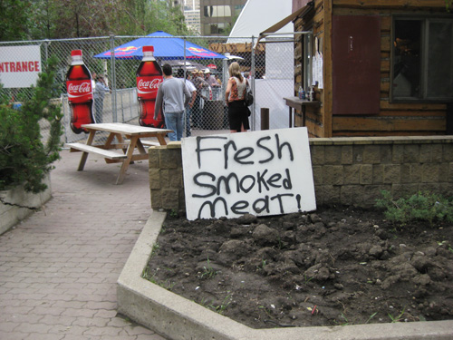 smokin' meat